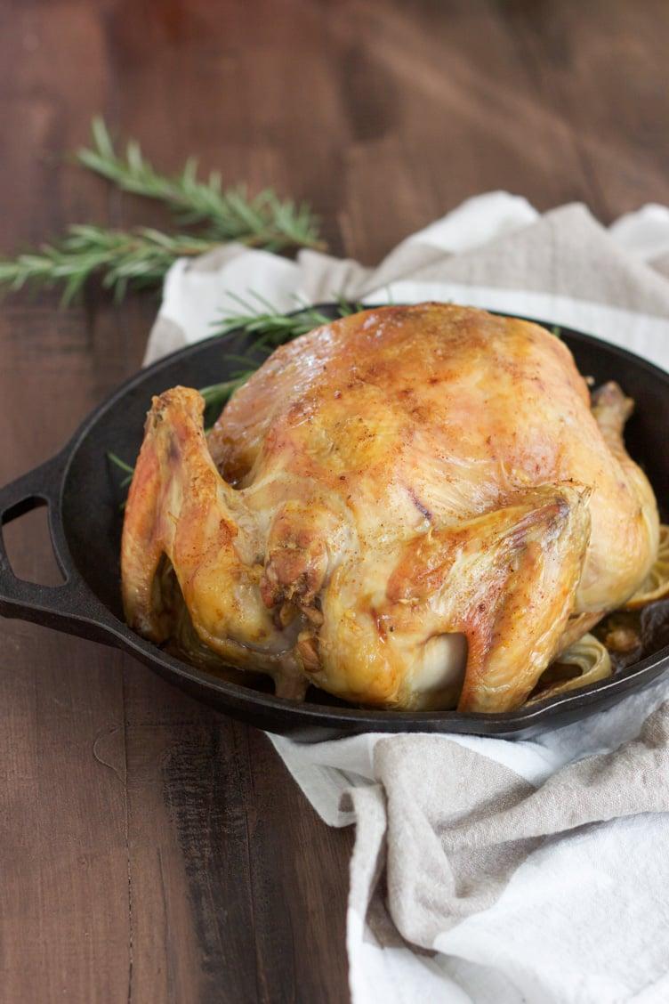 Perfect Paleo Roast Chicken