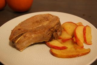 pork and apples