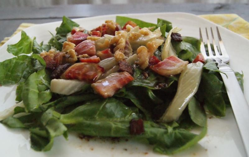 fennel bacon salad