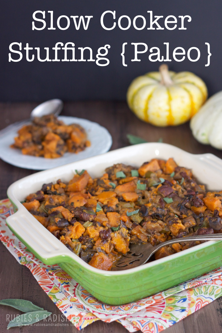 Paleo Slow Cooker Stuffing