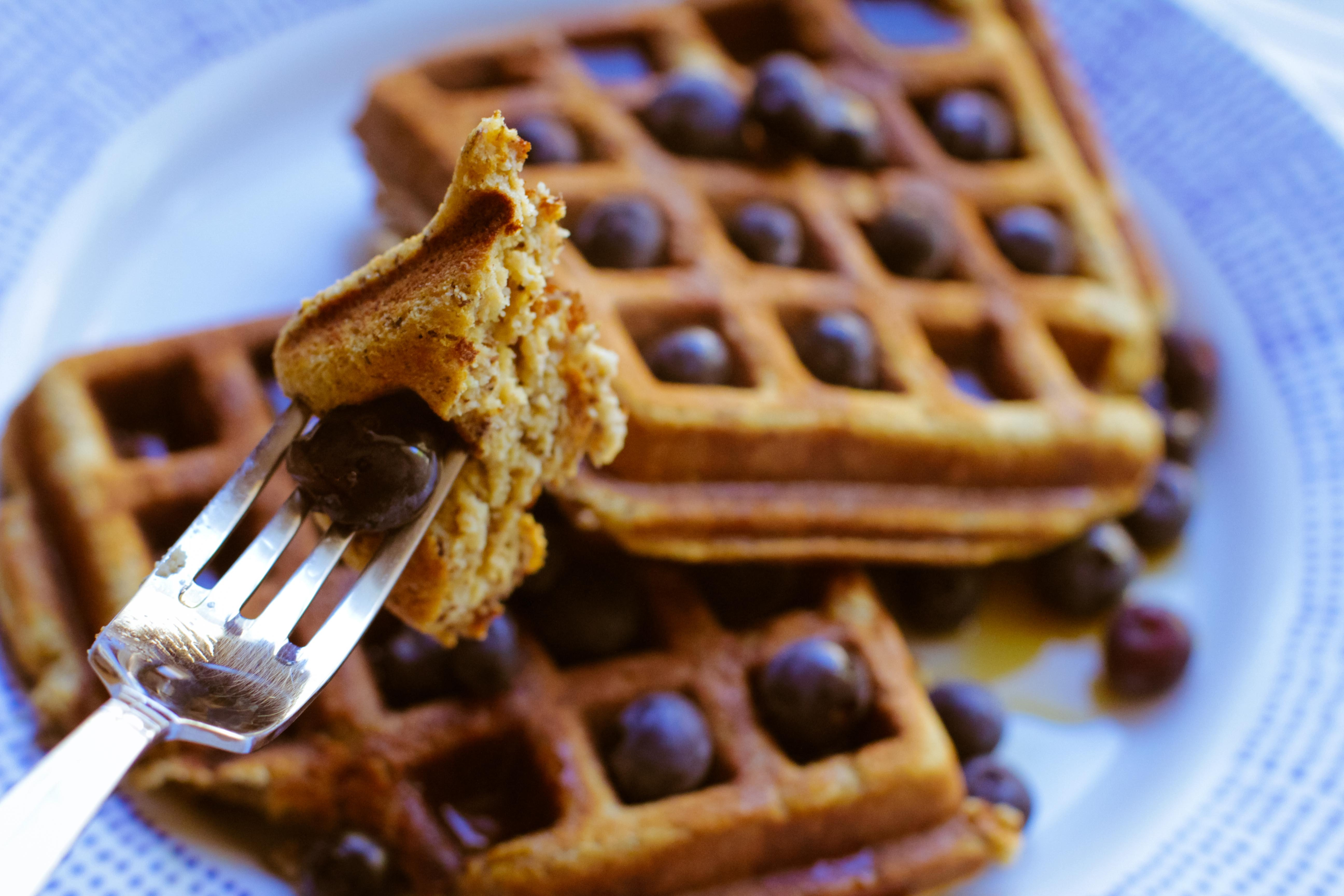 Paleo Banana Waffles from Cupcakes to Crossfit - Rubies & Radishes