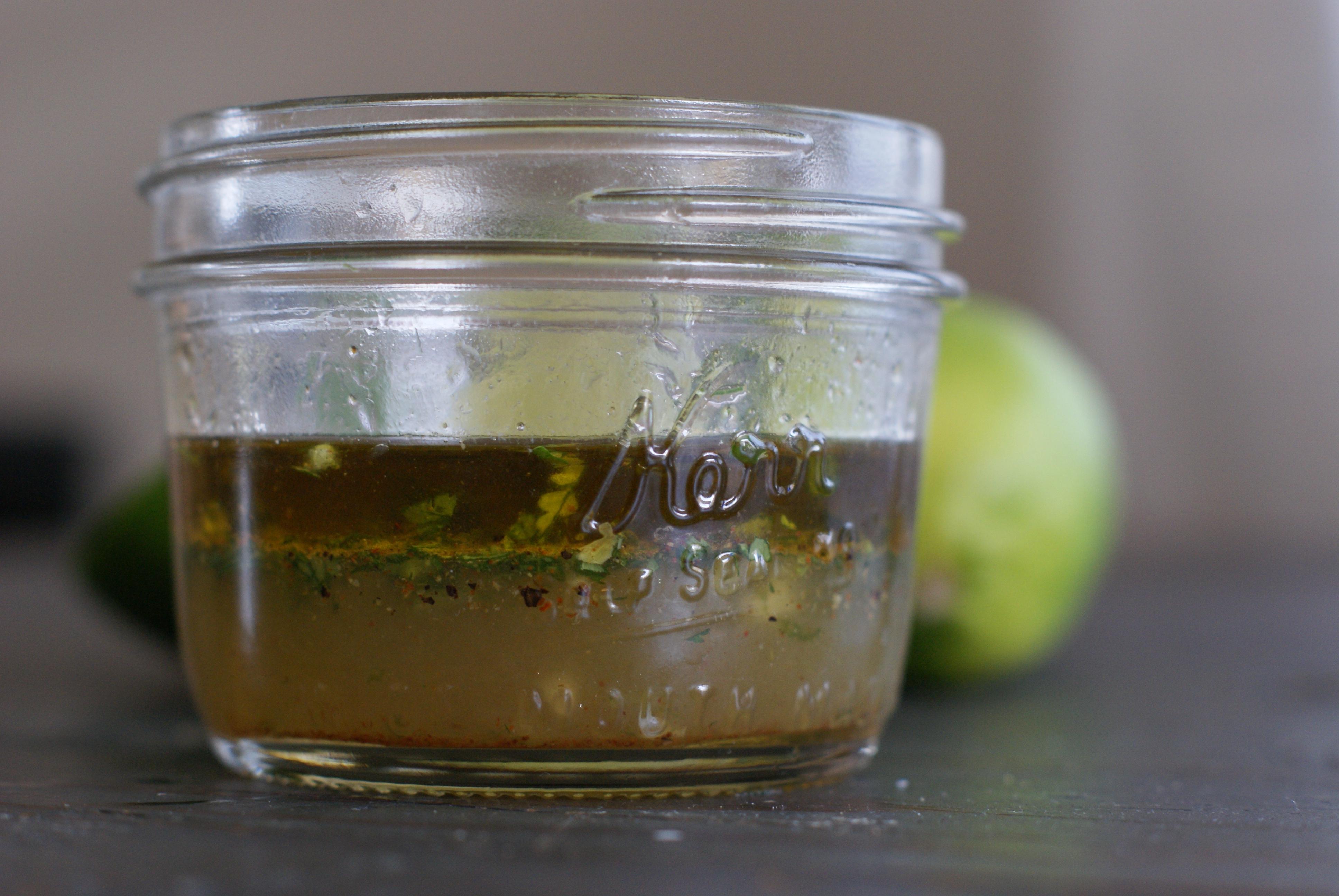 Chipotle Lime Vinaigrette from rubiesandradishes.com