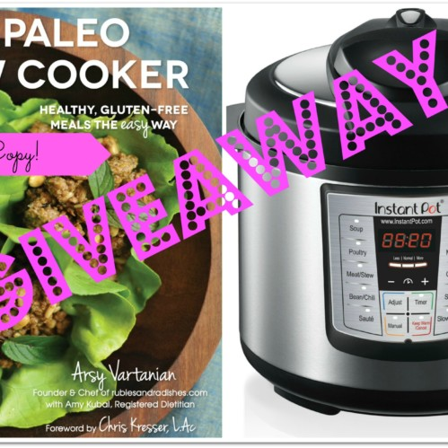 Pressure Cooker Giveaway from rubiesandradishes.com #paleo