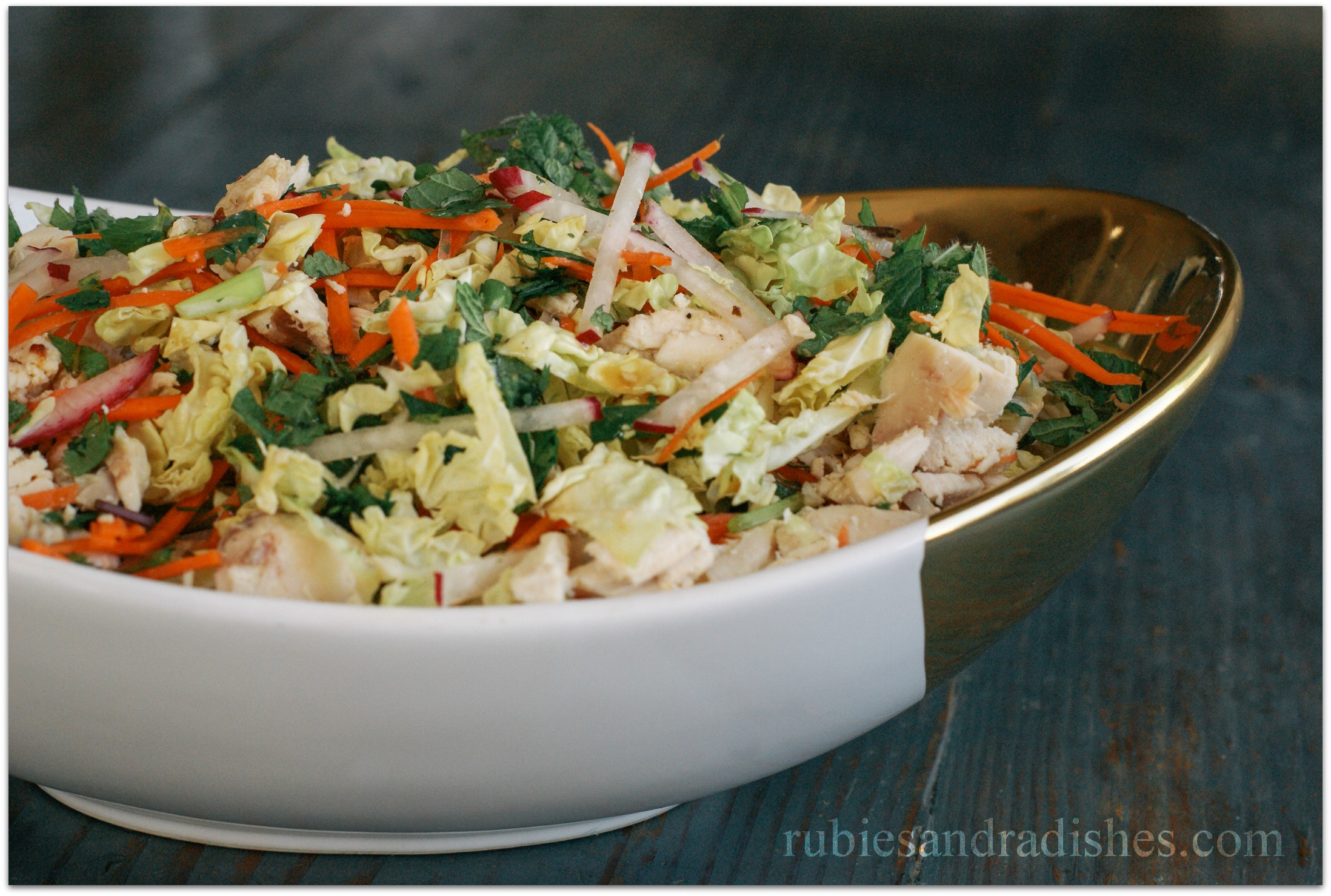 Chinese Chicken Salad #paleo