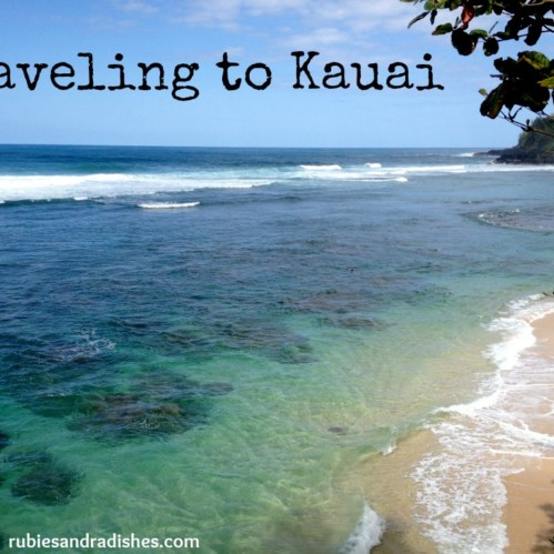 Traveling to Kauai