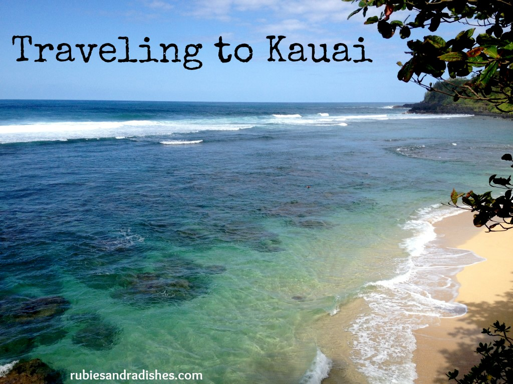 Traveling to Kauai