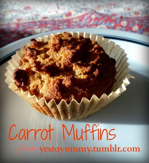 Carrot Muffins #paleo