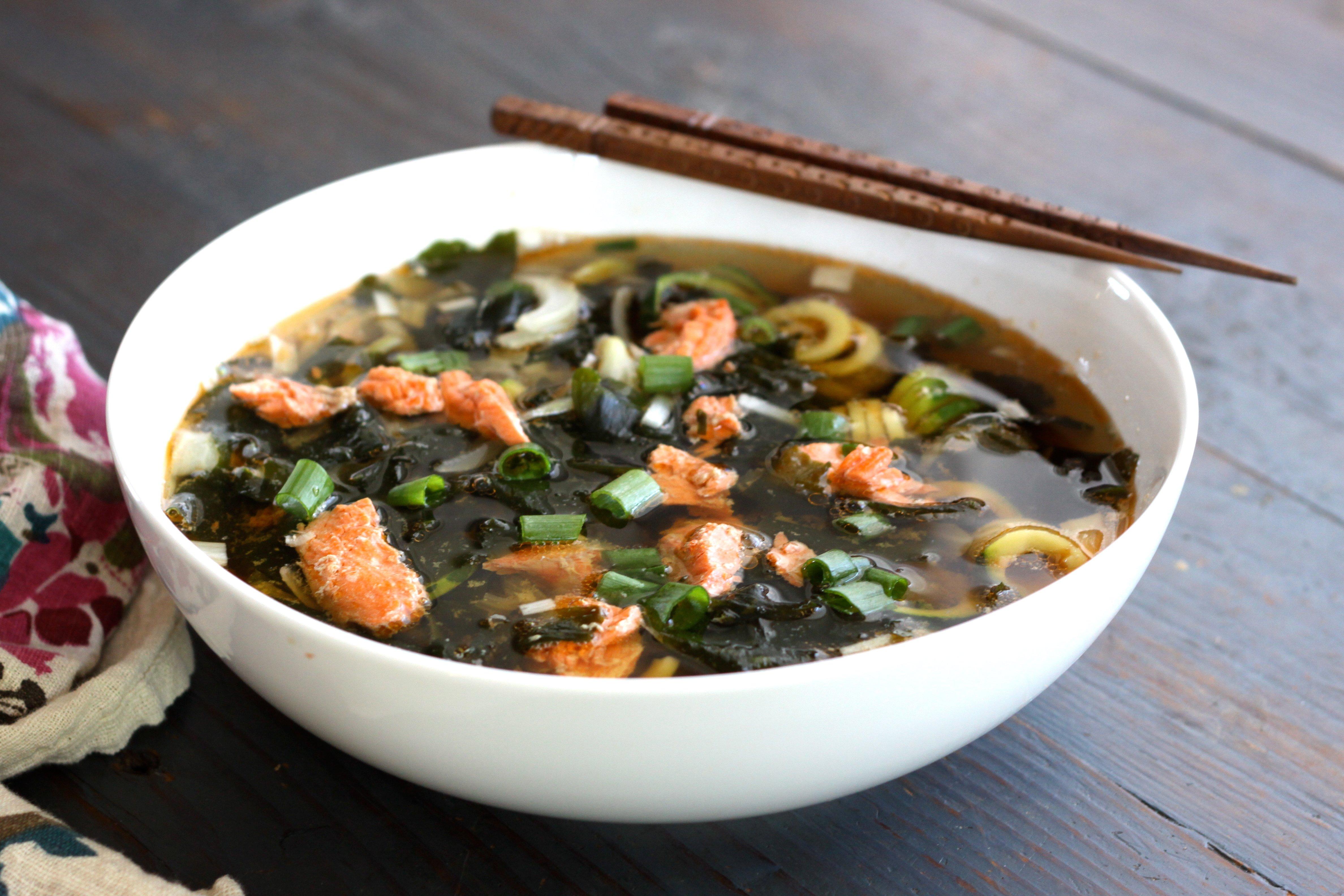 Salmon Head Soup