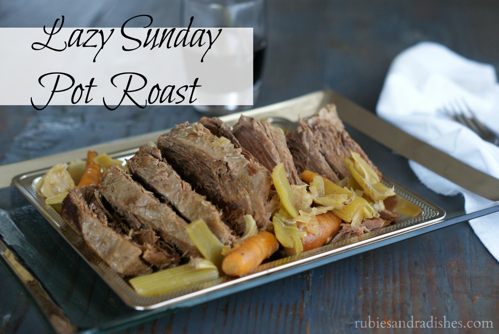 Pot Roast // rubiesandradishes.com