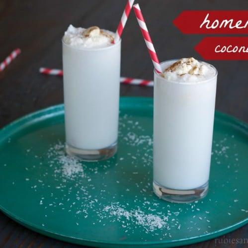 homemade coconut milk // rubiesandradishes.com