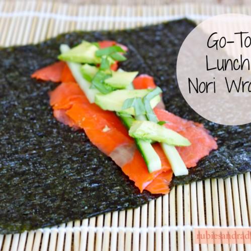 Nori Wraps // rubiesandradishes.com