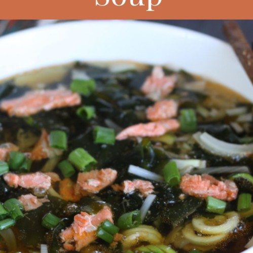 salmon head soup