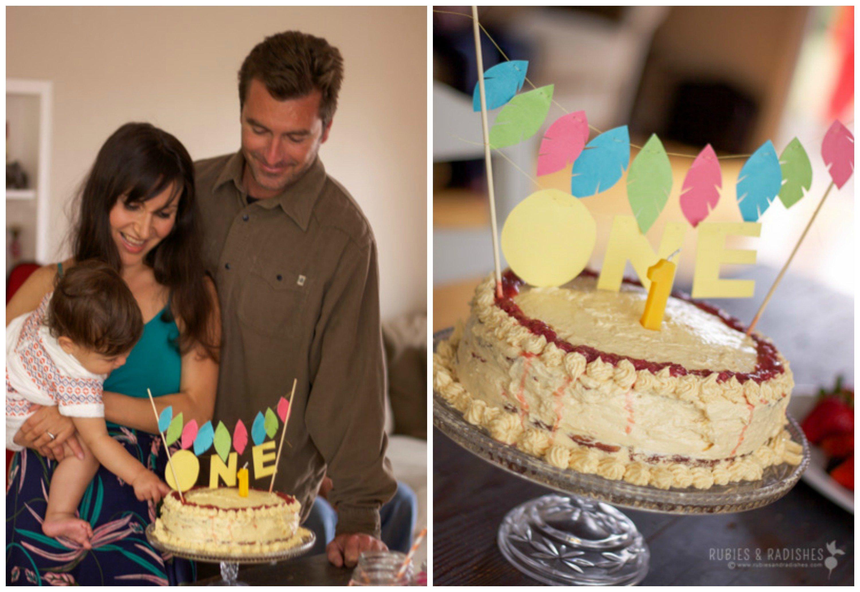 Paleo baby birthday cake 2