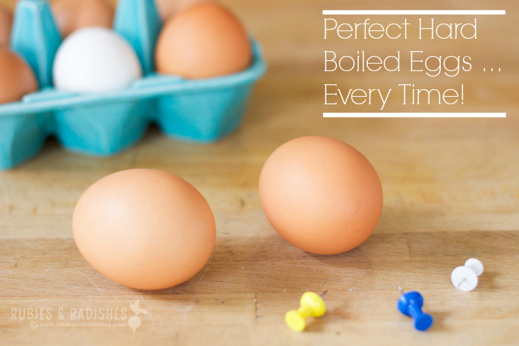 Perfect Hard-Boiled Eggs... EVERY TIME!