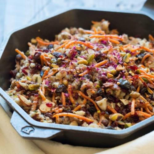 "Paleo Persian Jeweled ""Rice"" Recipe"