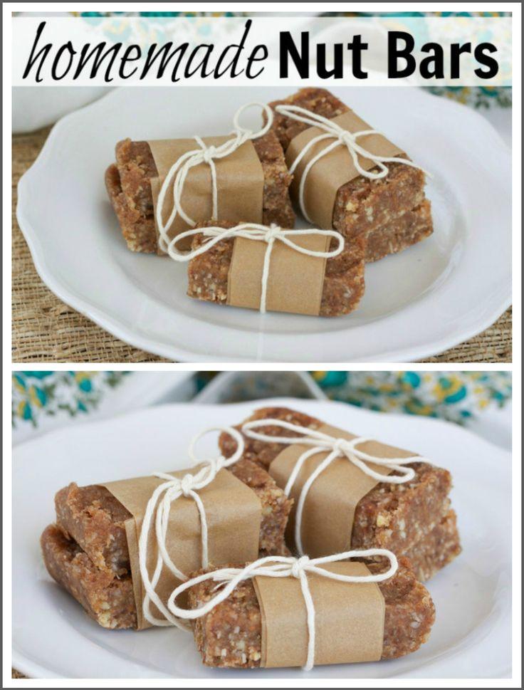 Paleo Homemade Nut Bars