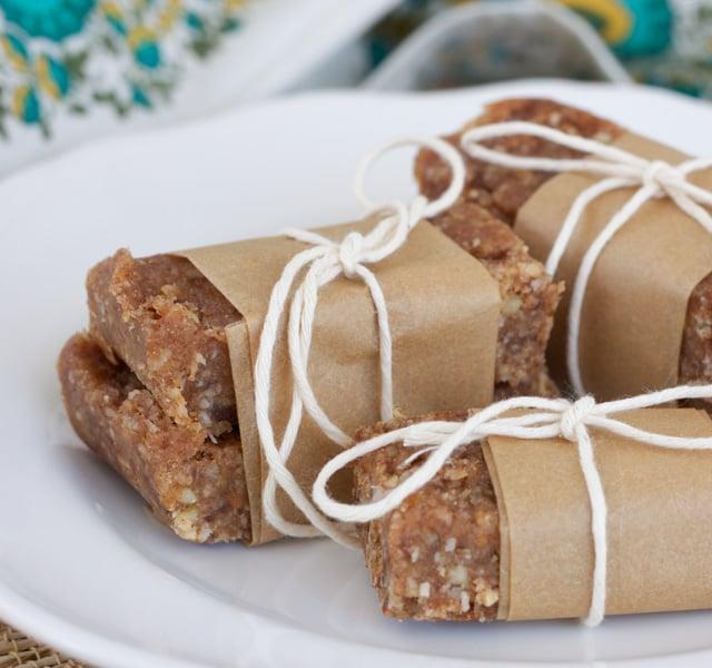 Homemade Nutty Bars Recipe — Dishmaps