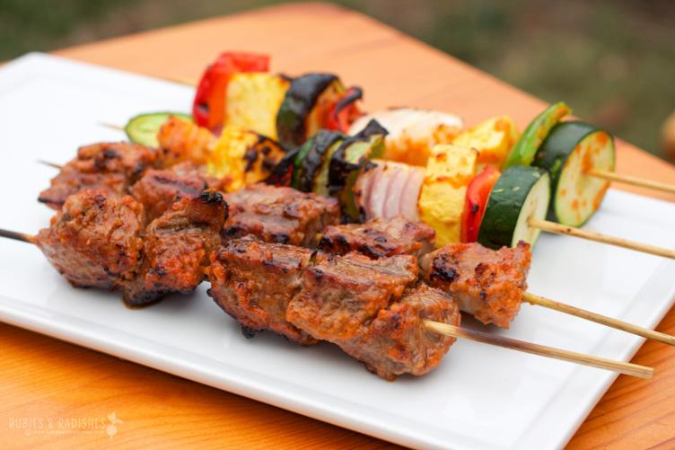 Paleo Beef Kebabs