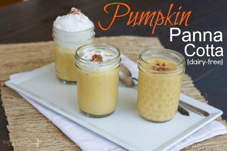 Pumpkin Panna Cotta