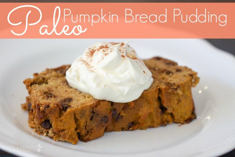 Pumpkin Chocolate Chip Bread Pudding