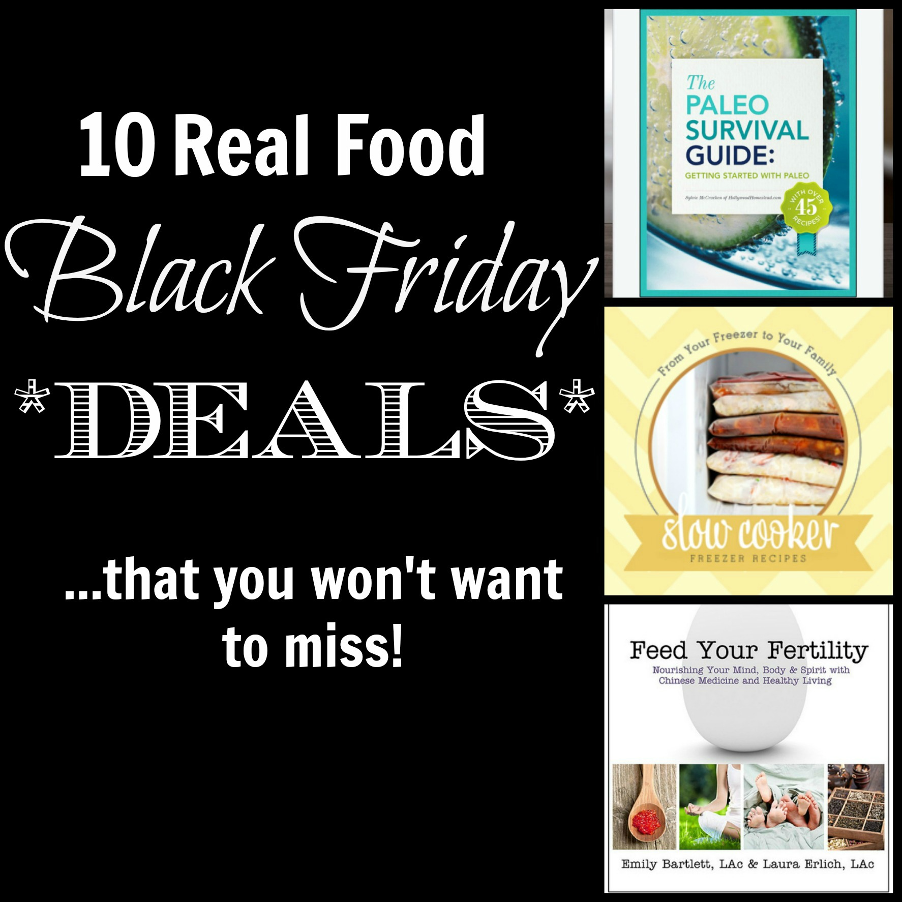 10 real food black friday deals you don 39 t want to miss rubies radishes. Black Bedroom Furniture Sets. Home Design Ideas