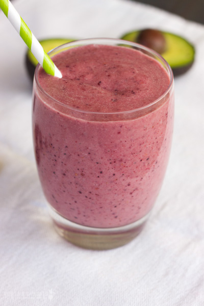 paleo berry smoothie