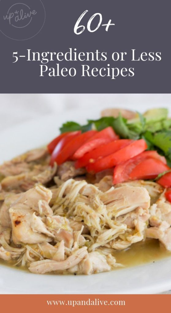 five ingredients or less dinner recipes