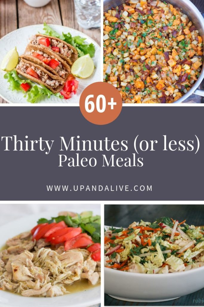 thirty minutes or less paleo meals