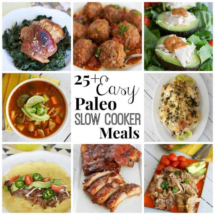 25 easy paleo slow cooker