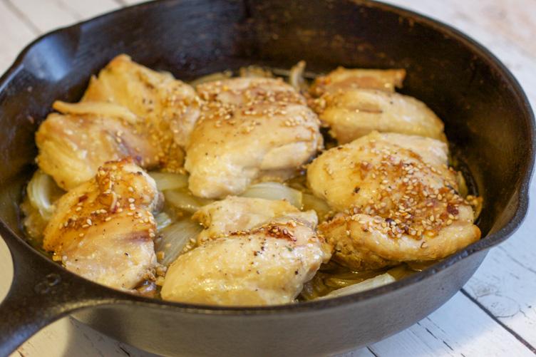 Paleo ginger garlic chicken