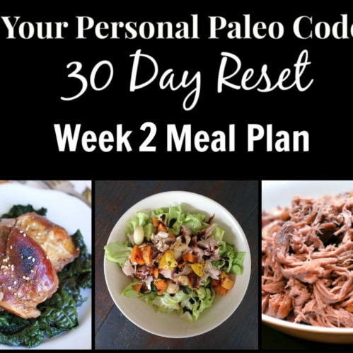 30 Day Reset Meal Plan