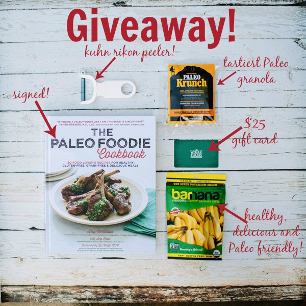 Paleo Goodie Bag Giveaway