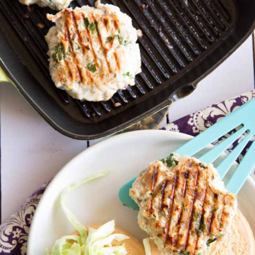Paleo Thai Chicken Burgers