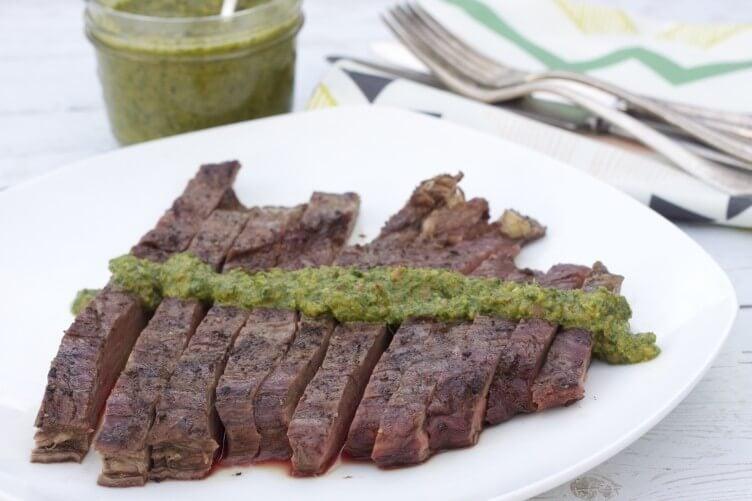Four Herb Paleo Chimichurri Recipe