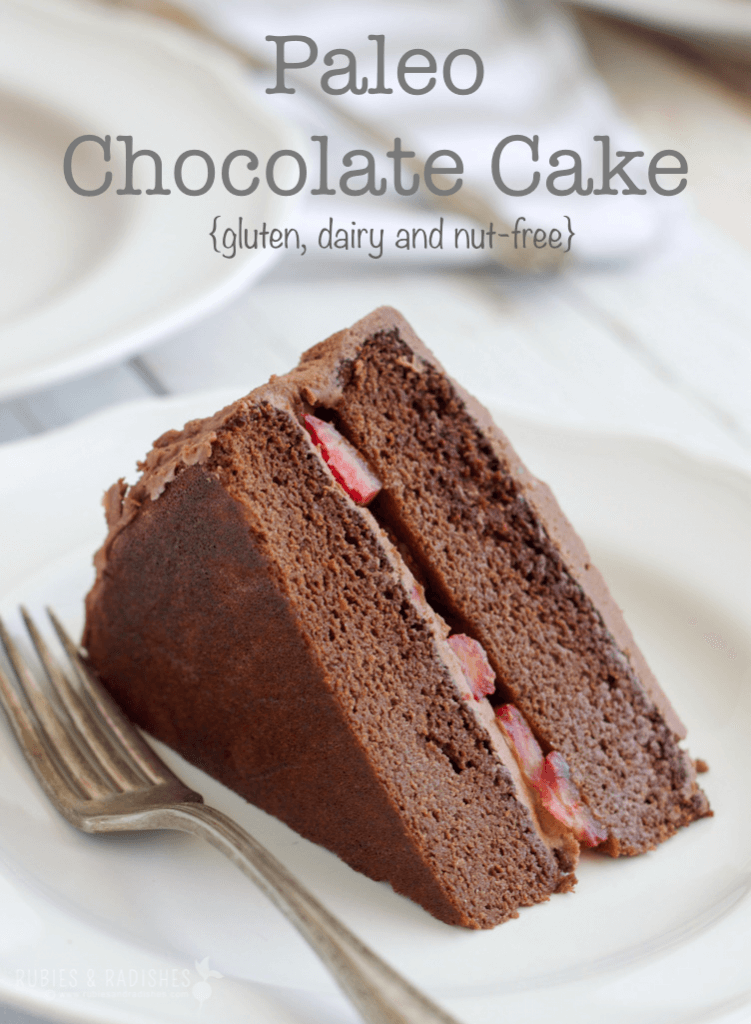 Paleo Chocolate Cake with Paleo Chocolate Frosting