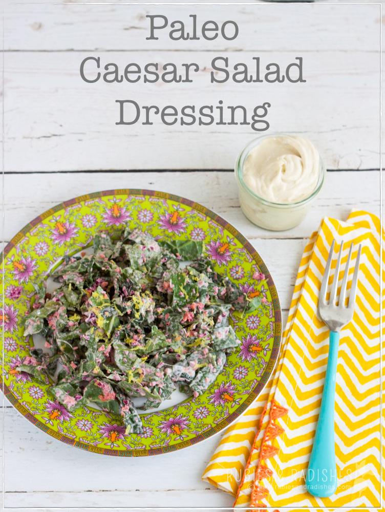 Paleo Caesar Salad Dressing