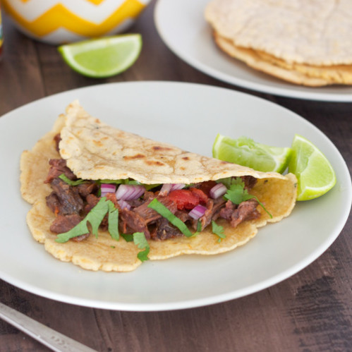 Paleo Beef Cheek Tacos with Paleo Tortillas