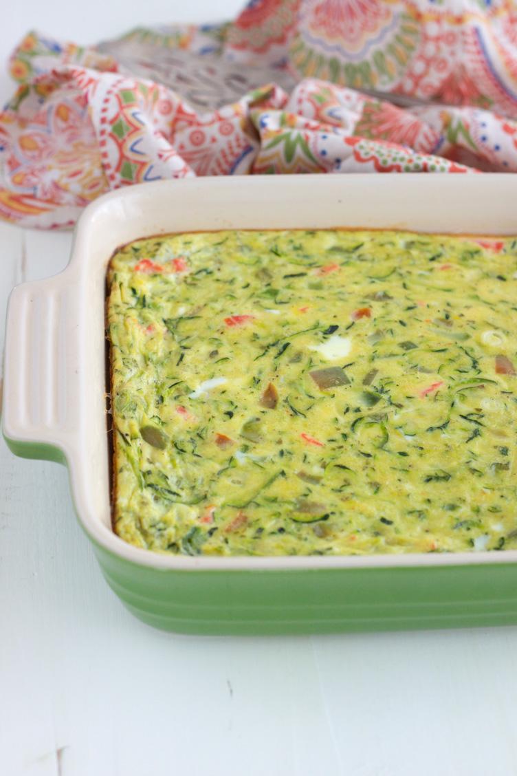 Salmon and Egg Bake