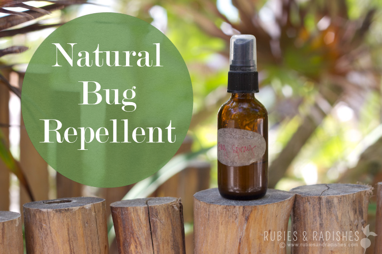 DIY Bug Spray: Natural Bug Repellent | Rubies & Radishes