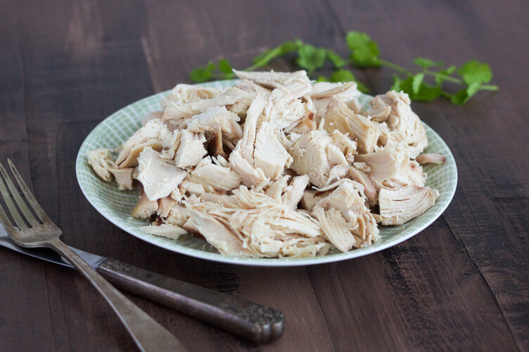 Slow Cooker Poached Chicken