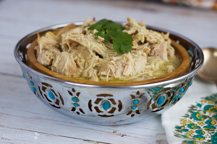Easy Slow Cooker Recipes -  Chicken Curry