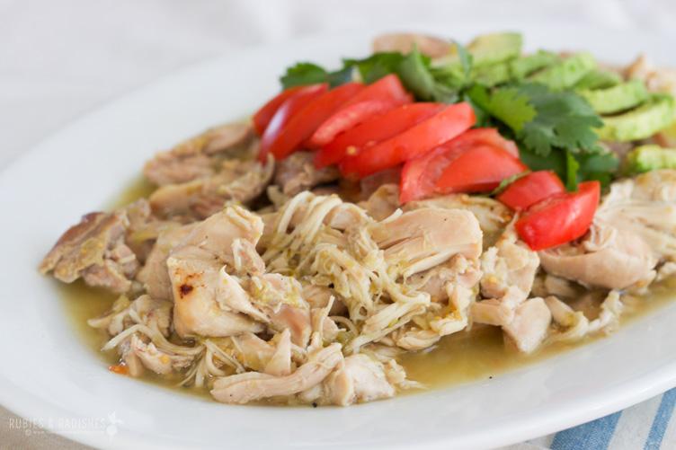Easy Slow Cooker Recipes - Chicken Verde