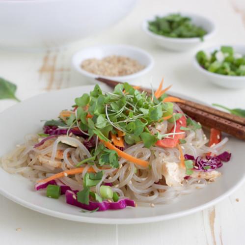 Korean Sweet Potato Noodle Salad