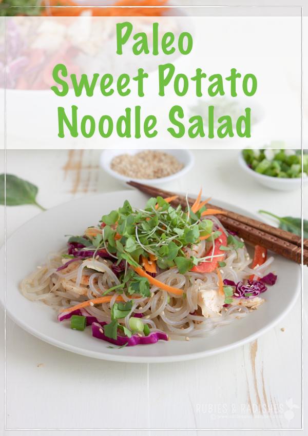 Paleo Korean Noodle Salad
