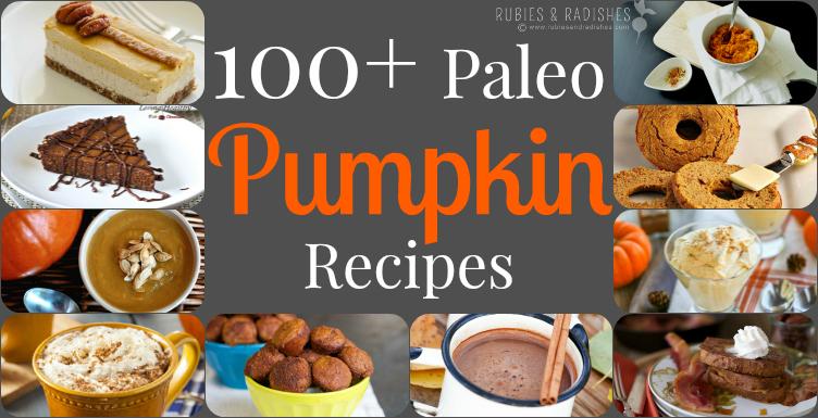 101+ Paleo Pumpkin Recipes