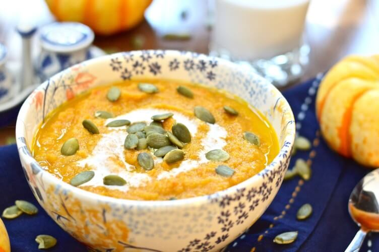 Fall Harvest Soup from Pure & Simple Nourishment