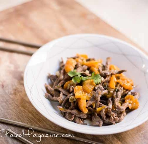 Paleo Orange Beef Stir Fry