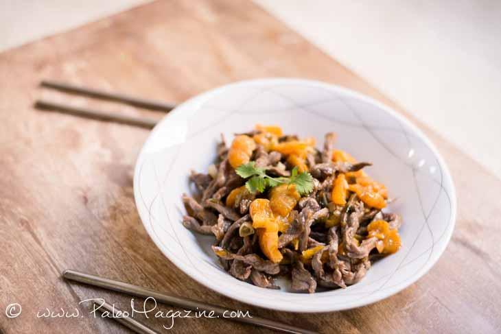 Paleo Orange Beef Stir Fry
