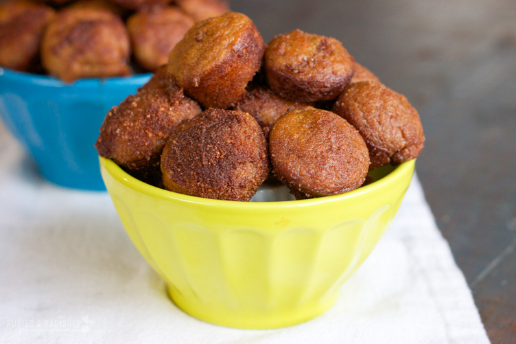Paleo Pumpkin Spice Poppers from Rubies & Radishes