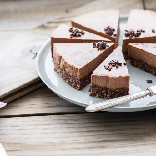 Raw Chocolate Torte